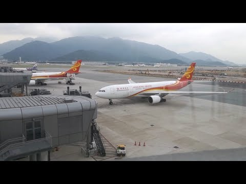 HongKong Airlines A330-200 Hong Kong to Bangkok [Business Class]