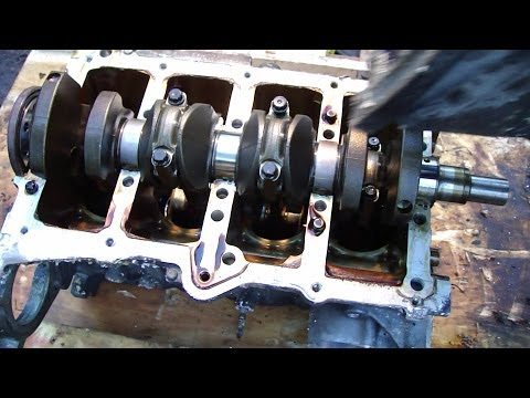 2013 Toyota Camry Engine Diagram How To Disassemble Engine Vvti Toyota Part 26 31