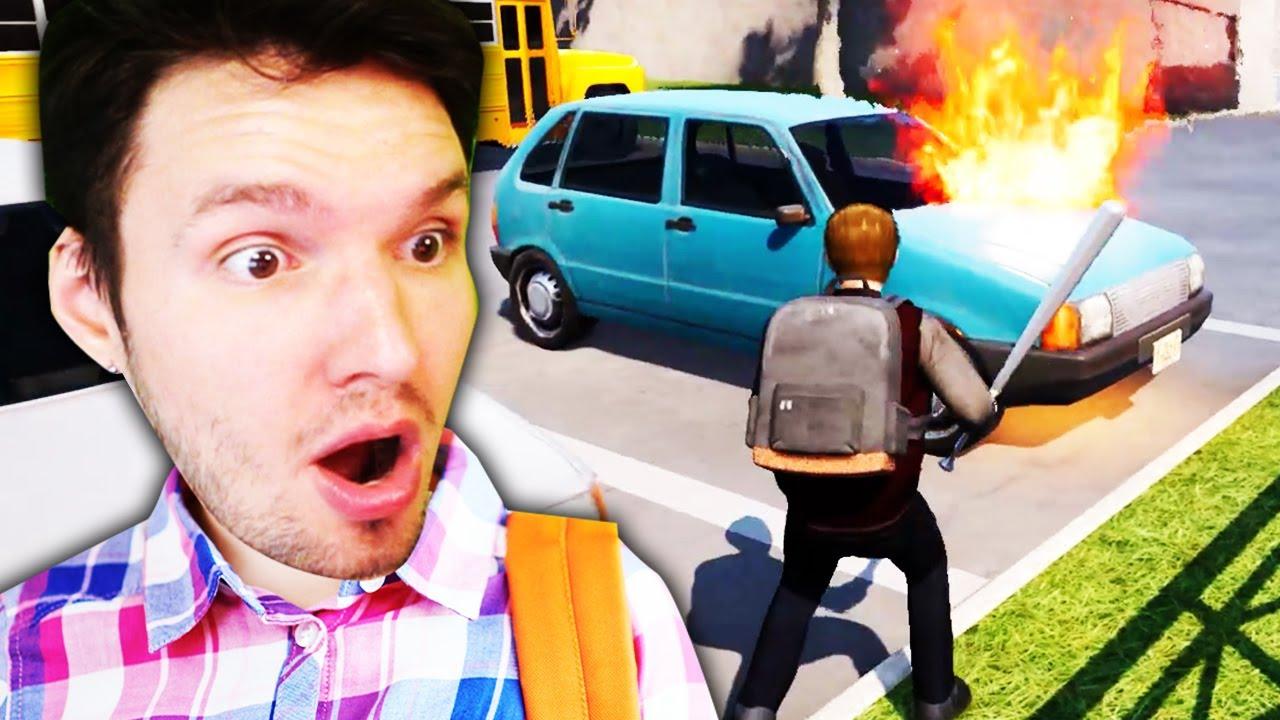 ICH HABE das AUTO DES DIREKTORS ZERSTÖRT !! (Bad Guys at School)