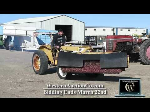 202 International Industrial Tractor