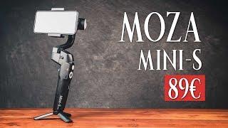 Moza Mini S - GIMBAL pour SMARTPHONE à 89€ ?