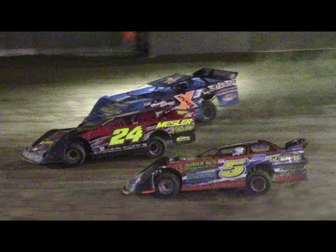 RUSH Crate Late Model Feature | Old Bradford Speedway | Jim Byerly Memorial | 8-13-17