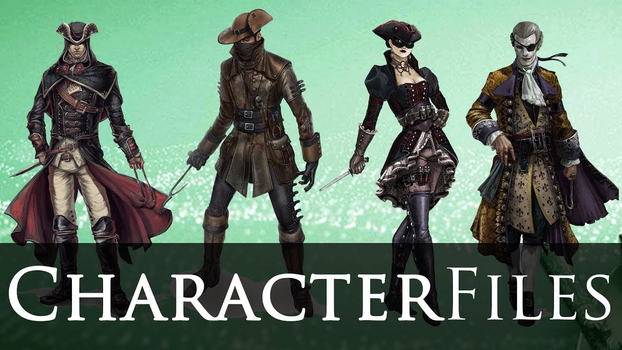 Assassin S Creed 4 Black Flag Character Files Character