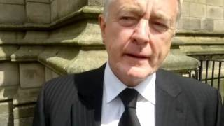 Manchester City legend Mike Doyle's funeral