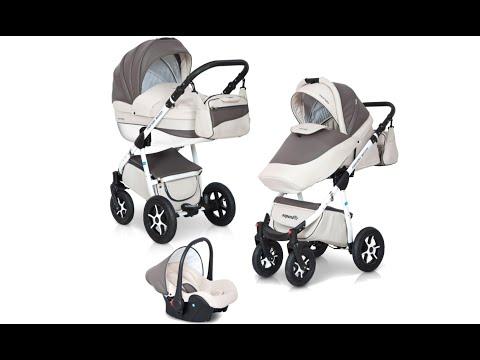 Kinderwagen Test: Expander MONDO ecco - 3-in1 Kinderwagen aus Leder