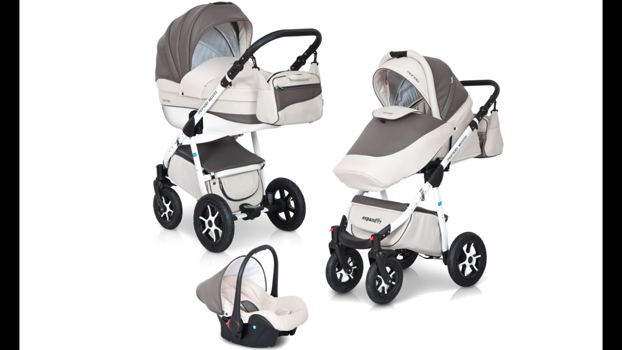 kinderwagen test expander mondo ecco 3 in1 kinderwagen aus leder youtube. Black Bedroom Furniture Sets. Home Design Ideas
