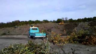 VW single cab taking a dump 2