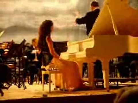 W A Mozart piano concerto no 23 Plays Axia Marinescu