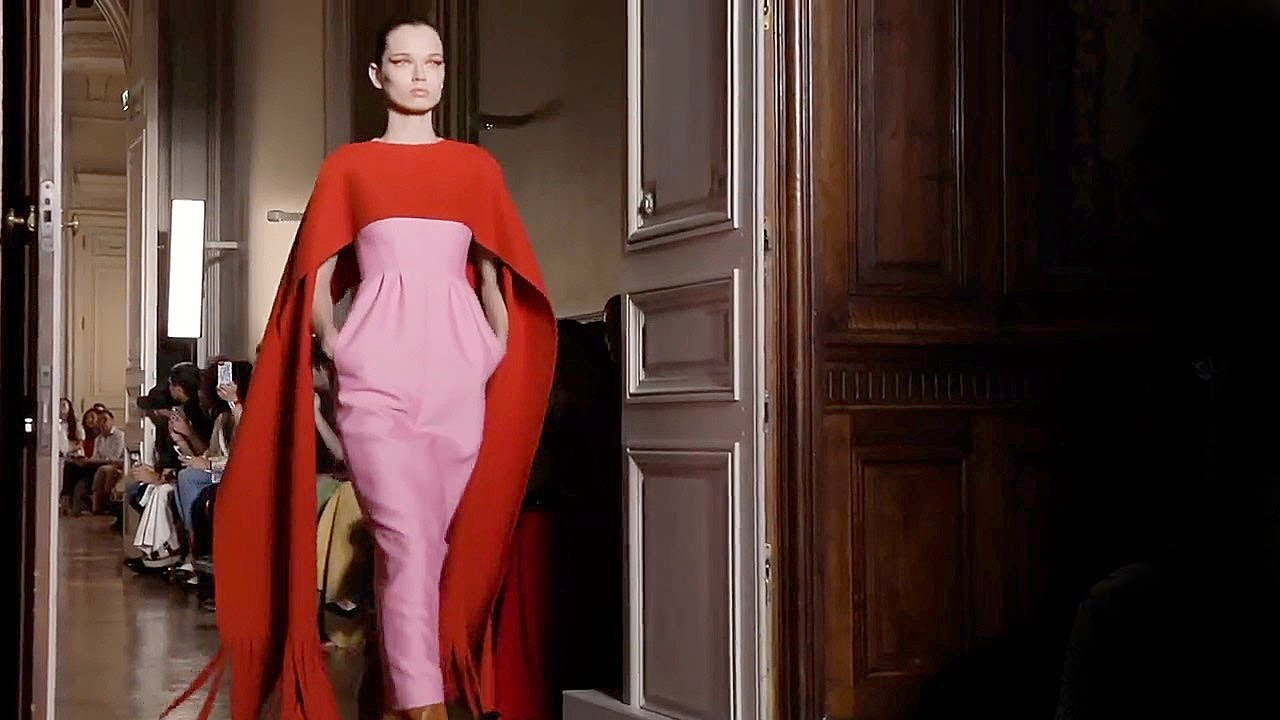 Fall 20182019 Exclusive Show Full Couture ValentinoHaute Winter 0OkX8nwP