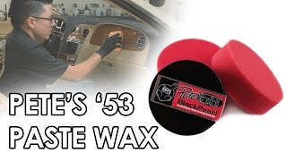 Pete's '53 Black Pearl Paste Wax - Chemical Guys Car Care