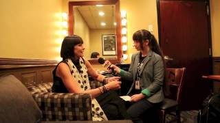 SWING OUT SISTER Interview Corinne Drewery with Pavlina 2013 NYC BB KINGS