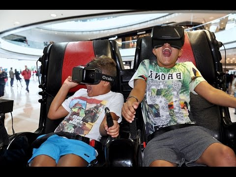 Virtual Reality Brandable Rollercoaster