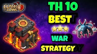 "Th10 (TOWNHALL 10) BEST 3 STARS WAR ATTACK STRATEGIES | ""3 STAR ANY MAX TH10"" 