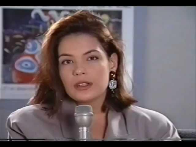 Depoimento de Carolina Ferraz- Projeto Pantanal Alerta Brasil- Anhembi- São Paulo- 1990