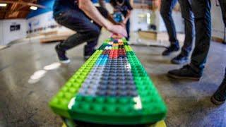 LEGO RAIL GAME OF SKATE!