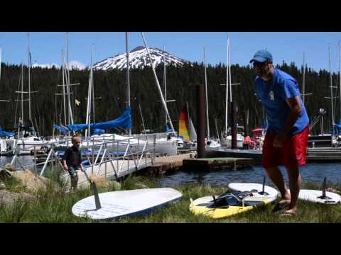 Central Oregon Summer - A Paddleboarding Oasis