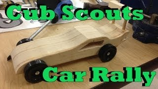 Cub Scouts Car Rally E28