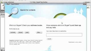 How to add contacts to skype