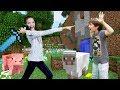 Новый Minecraft Мир от Адриана: Экстремальное выживание Светы!