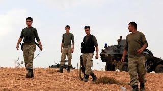 الاكراد يصدون هجوما جديدا لتنظيم داعش في عين العرب