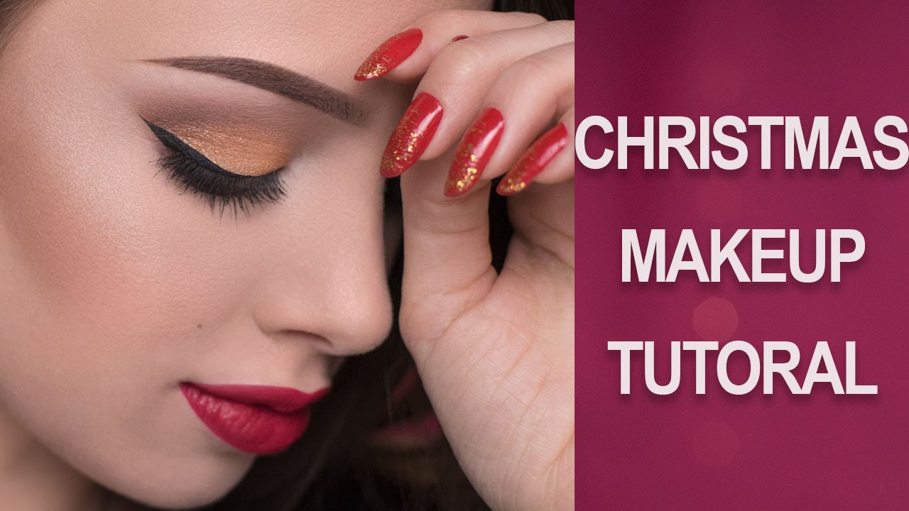 Simple Christmas Makeup Tutorial