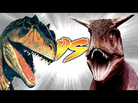 ALLOSAURUS VS CARNOTAURUS [Who Would Win?]