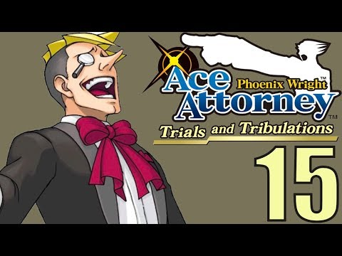 Phoenix Wright Ace Attorney: TaT -15- 17 CUPS OF COFFEE!