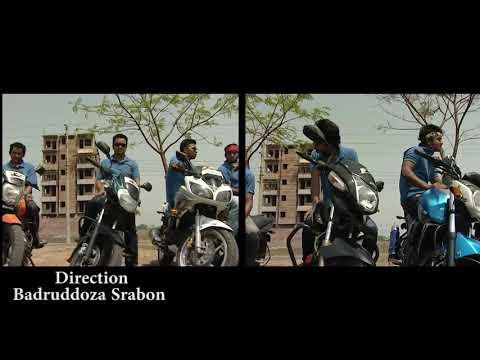 Bike stunt in Dhaka city