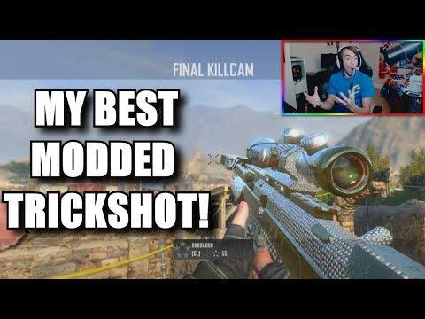 I HIT MY BEST MODDED BO2 TRICKSHOT! (LOW GRAVITY TRICKSHOTTING)