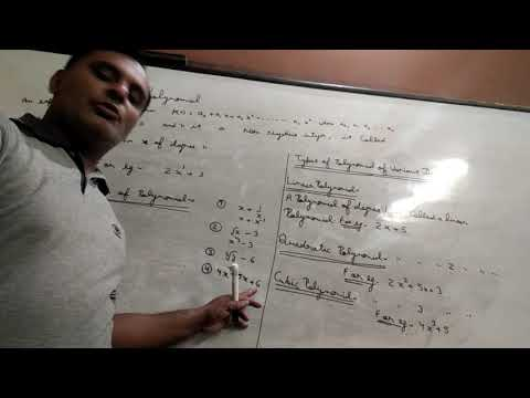 Ravi Taneja First Video Of Polynomial Of Class Ix