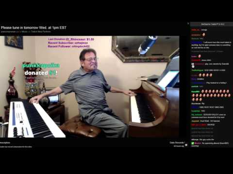 Pianoimproman - Stairway To Heaven (with Twitch chat)