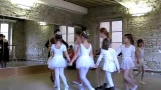 Урок народного танца в Лионе