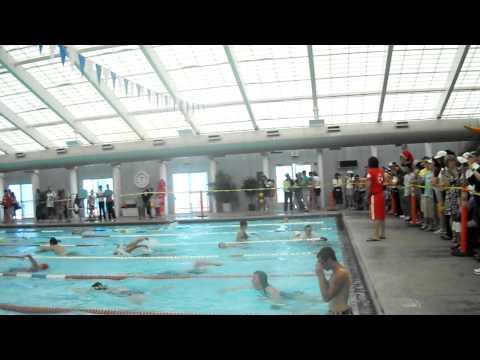 Jay Benson Triathlon 2011 swim portion