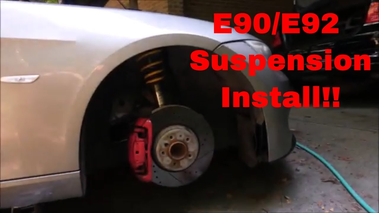Swapping my Coilovers to Stock Sport Suspension!!