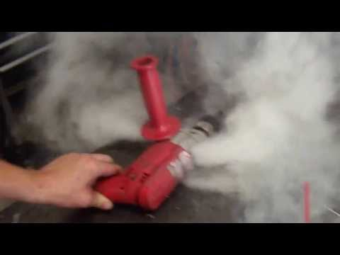 Milwaukee Power Drill Burn Up!!