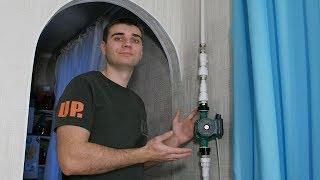 видео Циркуляционный насос – увеличение мощности системы