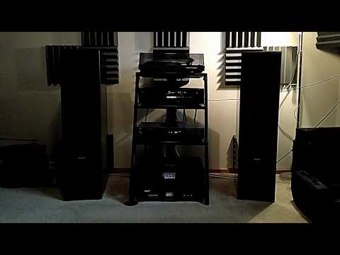 Vintage Nakamichi Amplifier, Energy Tower Speakers. late 80's early 90's
