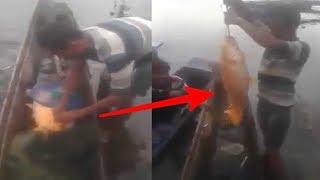 VIDEO ASLI !! Penangkapan Ikan Mas Danau Toba, Sebelum KM Sinar Bangun...