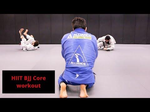 HIIT Jiu Jitsu Core Conditioning Routine | Cobrinha BJJ
