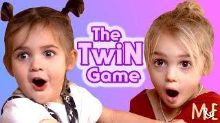 THE TWIN GAME! | MILA & EMMA