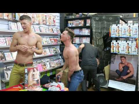 Brent Corrigan And JJ Knight In Store Event