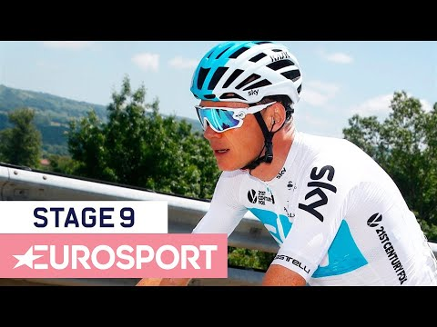 Giro d'Italia 2018 | Stage 9 Highlights | Cycling | Eurosport