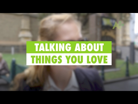 Learn English: Talking about things you love - Australia Plus