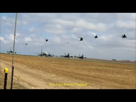 ADF War Games, F-18s, Hawk 127, P-8 Posiden, C-17, C-130, KC-30, AP-3C, E-7 Wedgetail etc In Action