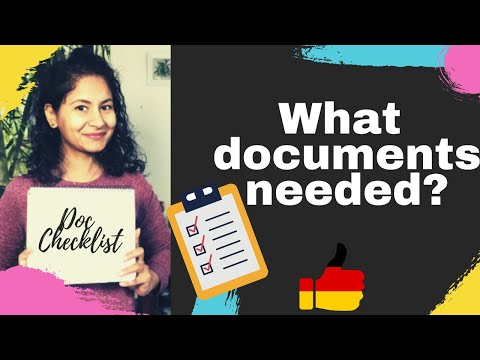 DOCUMENTS REQUIRED FOR GERMAN UNIVERSITY | HOW TO GET DOCS NOTARISED/ ATTESTED FOR GERMAN UNIVERSITY