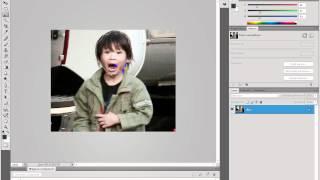 замена лица в фотошопе cs4
