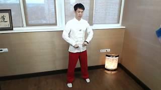 """Мастер Ли Минь о комплексе тайцзи и цигун """"Игры пяти зверей"""". Первое движение."""