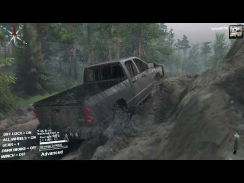 Spin Tires NEW MAP West Fork River with Download