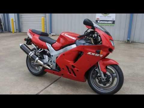 Vintage 1997 Kawasaki Zx9r Ninja In Firecracker Red Youtube