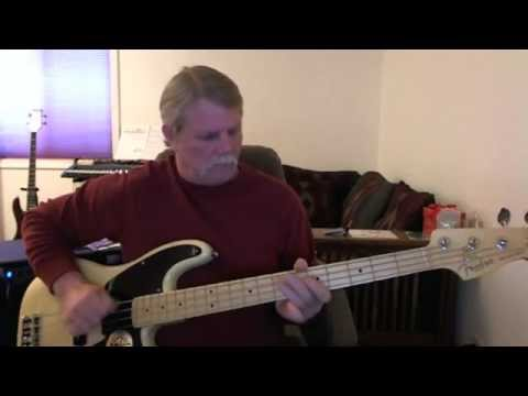 Funk 49 - James Gang -  Bass Cover (up to Drum solo)